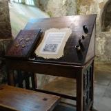 Monks writing desk