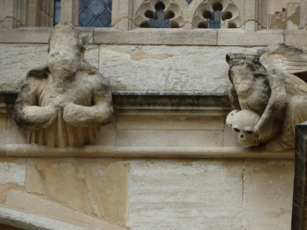 Grotesques St Georges Cathedral