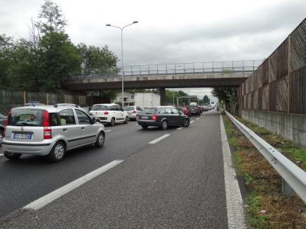 Traffic Italian style