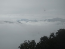 Lugano is down there somewhere