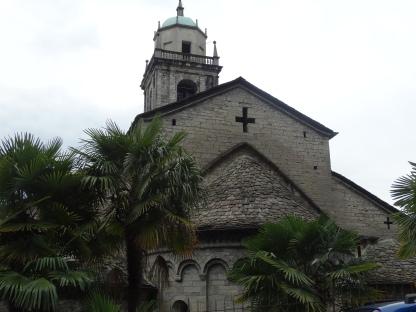 rear of the church