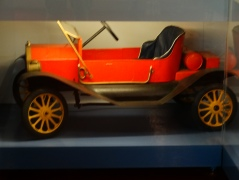 early pedal car