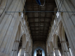unusual wooden ceiling