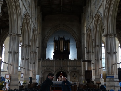 the main chapel in the church