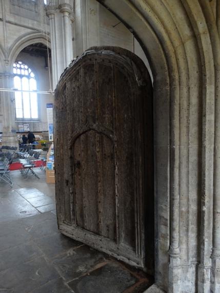 The ancient front door