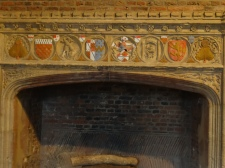 Fire place in the Great Hall