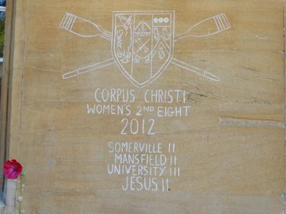 Graffiti at Corpus Christi
