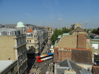 Oxford from the Saxon tower