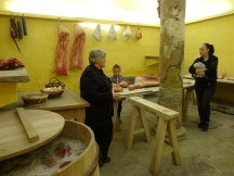 the butchery and salting room