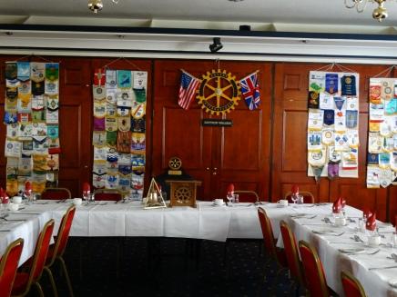 Rotary meeting - Saffron Waldron