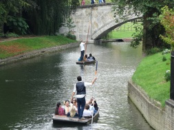 Punting on the River Cam