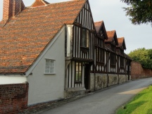 the Vicarage beside the church