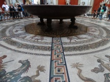 huge ceremonial saucer