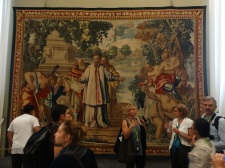 Tapestry in the Tapestry Gallery