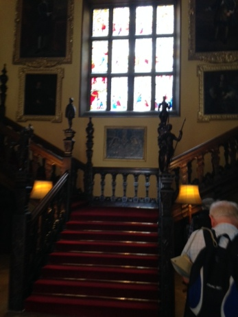 the Entry staircase