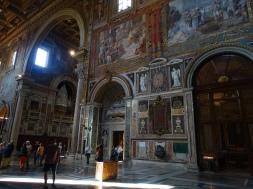 Part of the interior artwork