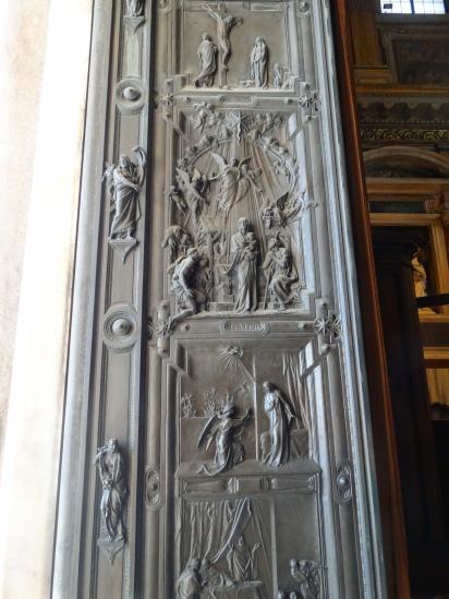 Front door Basilica di Santa Maria Maggiore