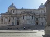 From the plaza at the rear of Basilica di Santa Maria Maggiore