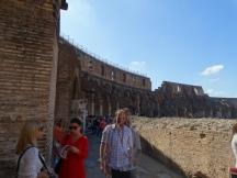 walking around the inner wall