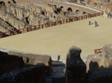 reconstructed arena