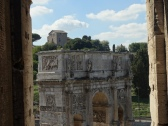 Imperial Arch outside the Colosseum