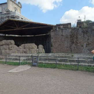 a remnant of the Forum