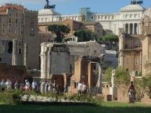 View across the Forum