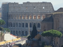 the Colosseum fro Vittoriano