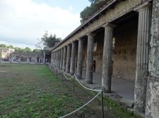 portico on gladiator's square
