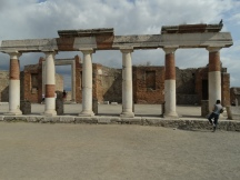 Part of Portico around forum
