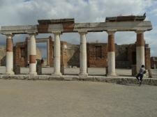 Part of Portico around forum