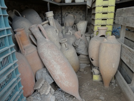 amphora discovered in the forum