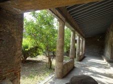 portico over the baths