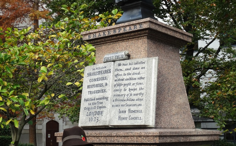 The Retirees go Abroad – Shakespeare and Dickens inLondon
