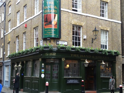 Hand and Shears Tavern