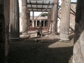the portico - House of the Faun
