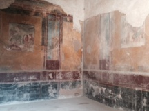 wall in the House of the Faun