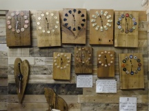 Recycled timber and other pieces