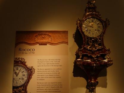 Baroque clock