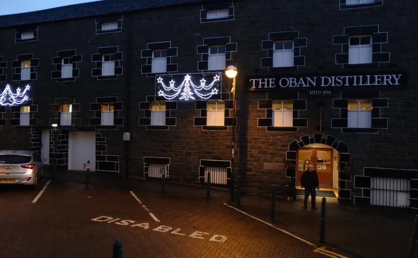 Bishops Visit – Oban Distillery andOban