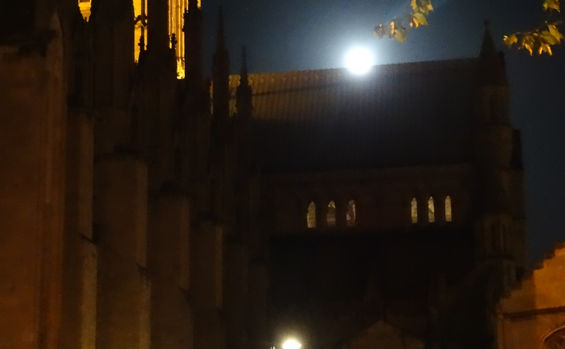 Bishops Visit – York the city of the Viking – Evensong at YorkMinster