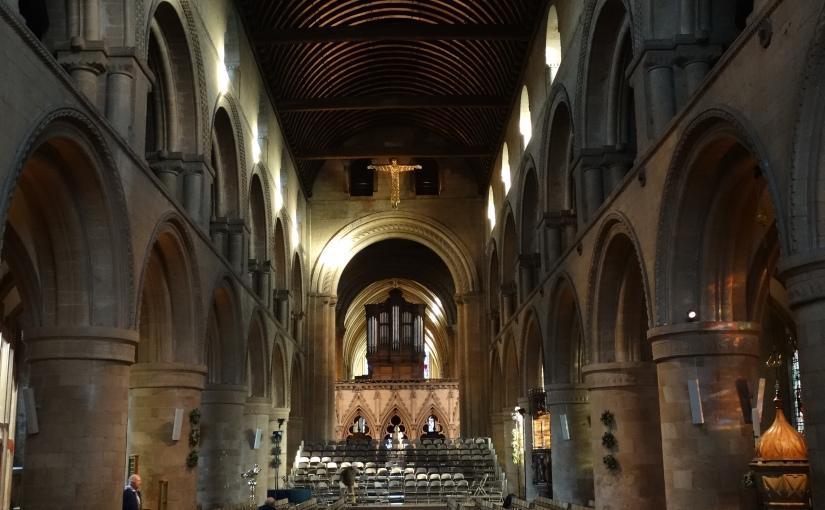 Bishops Visit – Interval- De je vu – SouthwellMinster