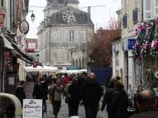 market square St Jean D'Angeley
