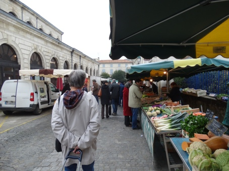 the markets St Jean D'Angeley