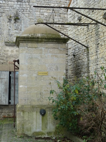 the village cistern/well