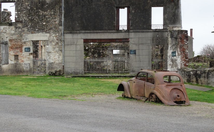 Bishops Visit – France and More – Limoges and the Tradgedy of Oradour sur Glane