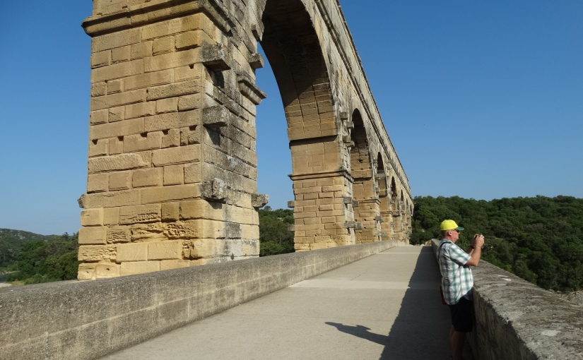 The Retirees go Abroad – Nice and the Cote D'Azur – Pont du Gard