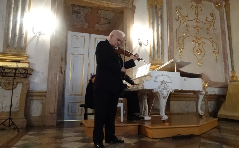 The Retirees go Abroad – Concert at Schloss Mirabell Salzburg Austria