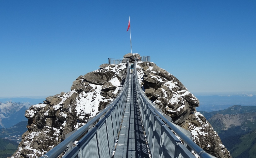 The Retirees go Abroad – Glacier 3000 at Mont Scex RougeSwitzerland