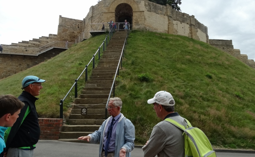 The Retirees go Abroad – Greg's Visit to Nottingham – Lincoln Castle and Steep Hill.